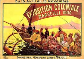 Exposition coloniale 1906 Marseille