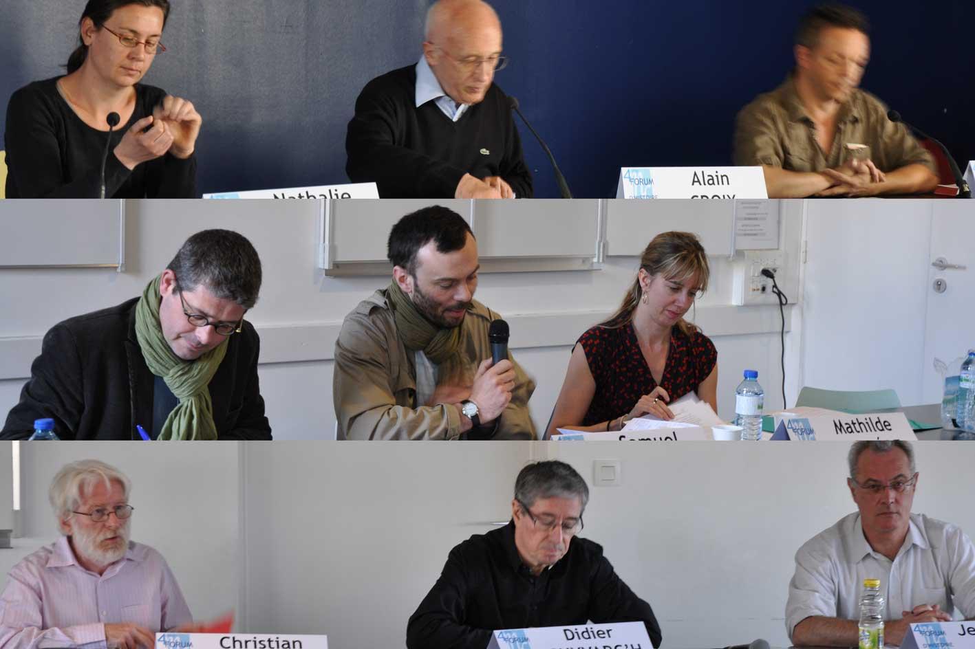 Nathalie Barré, Alain Croix, Christophe Patillon, Goulven Boudic, Samuel Guicheteau, Mathilde Larrère, Christian Bougeard, Didier Guyvarc'h, Jean-Pierre Le Crom